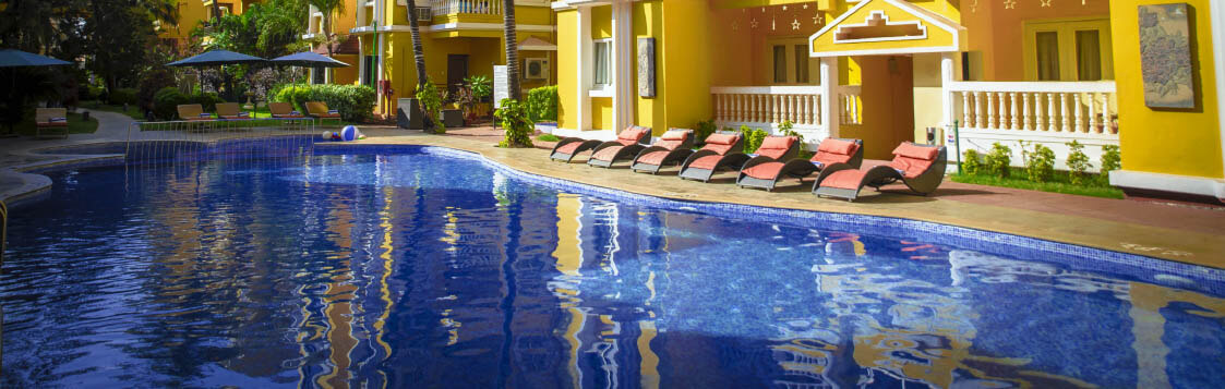 Hotels in Calangute with Swimming pool
